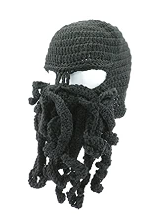 Amazon.com  Oidon Octopus Winter Warm Knitted Wool Ski Face Mask ... 21d0c565b4c7
