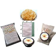 1/4 Cup Organic Original Water Kefir Grains Exclusively from Florida Sun Kefir with 2 Brewing Bags