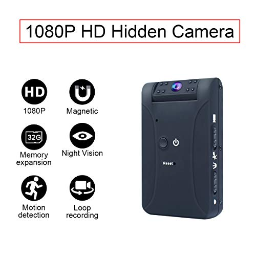 Mini Hidden Camera?MD17?Spy Hidden Video Recorder Security Monitoring with Night Vision
