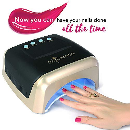 Star Cosmetics Uv Led Lamp Dryer Light Cures Your Gel Nail Polish
