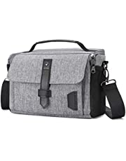 Camera Bag, Bagsmart DSLR SLR Camera Case, Water Resistant Camera Gadget Shoulder Bag for Men and Women