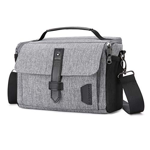Camera Bag, BAGSMART DSLR Camera Case...