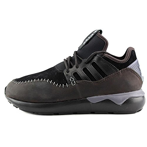 Adidas Tubular Moc Runner Mens Running-shoes Cblack / Cblack / Nbrown