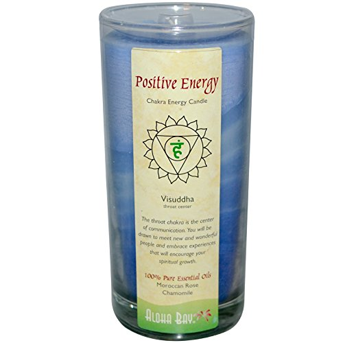 Aloha Bay, Chakra Energy Candle, Positive Energy, 11 oz(pack of (Chakra Energy Candle)