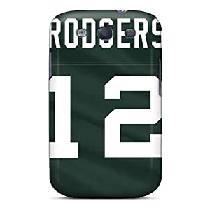 Nsh8125fYqS Tpu Phone Case With Fashionable Look For Galaxy S3 - Green Bay Packers