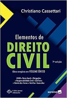Elementos de direito civil - 7ª edição de 2018