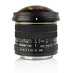 "This is a manual focus lens. You can only use the lens in ""M"" manual exposure mode. The Opteka 6.5mm f/3.5 Fisheye Lens is an excellent addition to any photographer's collection, giving users the ability to expand their creativity and capture..."