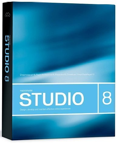Macromedia Studio 8 for Win/Mac [Old Version]