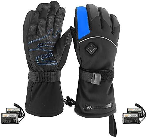 戻る暖房3M暖かい手袋を充電する電気手袋、サーモスタット冬の屋外スキー手袋、リチウム電池暖房手袋、ソフト防水五本指ハンド