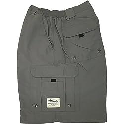 Bimini Bay Outfitters Boca Grande Short (40, Grey)