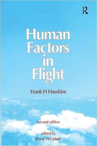 human factors in flight frank h hawkins harry w orlady