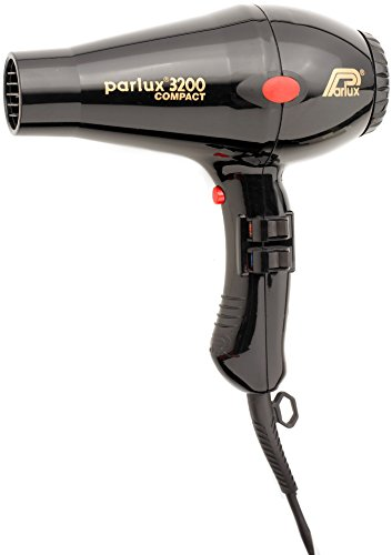 Parlux Compact Hair Dryer, No.3200 Black