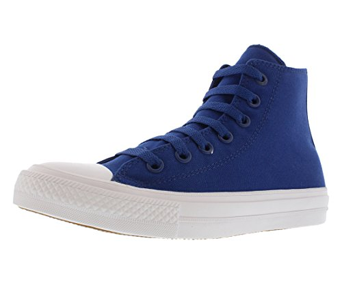 (Converse Kids Unisex Chuck Taylor All Star II Hi (Big Kid) Sodalite Blue/White/Navy 7 M US Big Kid)
