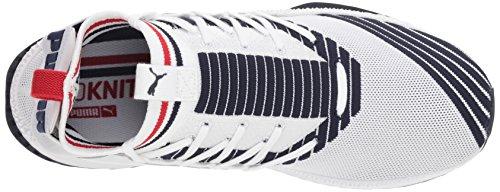 Sneaker Red Puma Unisex White Jun ribbon Adulto Tsugi peacoat White pqtT4wznt