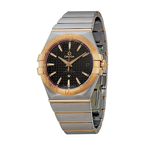 - Omega Constellation Chronometer Automatic Steel and Rose Gold Mens Watch 12320352001001