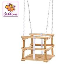Simba 100004502 Blanco, Madera Columpio para bebés - Columpios para bebés (1 año(s), 20 kg, Blanco, Madera, 300 mm, 300 mm, 2100 mm)