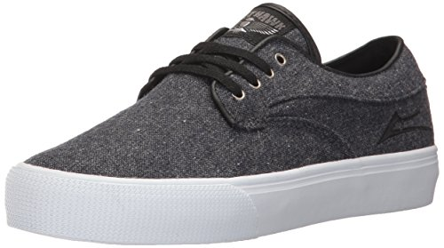 Lakai Riley Hawk Skate Shoe Midnight Textile