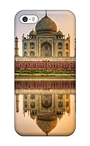 Snap-on Taj Mahal India Hdr Case Cover Skin Compatible With Iphone 5/5s