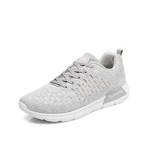 Walking Monrinda Comfortable Gym Jogging Running Breathable Shoes Trainers Sneakers Fitness Sports Lightweight Women 0grey 8wZvz8arWq