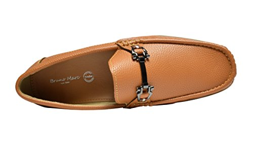 Bruno Marc Men's BENNETH-01 Tan Driving Loafers Moccasins Shoes – 9.5 M US