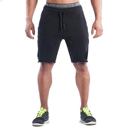 Lakers Warm Up Pants (Men's Training Workout Gym Shorts Casual Drawstring Running Biking Athletic Sweatpant Short?Black,M tag XL?)