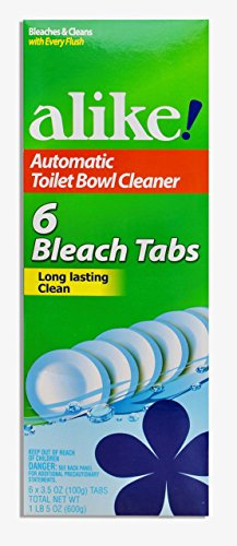 (alike Automatic Toilet Bowl, Bleach Tabs, 3.5 Ounce, 6 Count)
