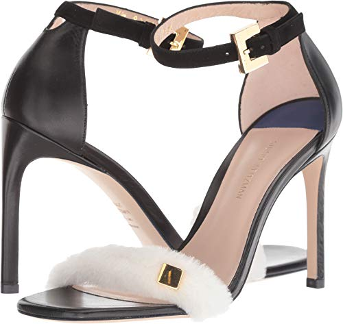 Stuart Weitzman Women's Stormie Sandals open toes heels Black Shoes 8.5 - Weitzman Stuart Toe Heels Open
