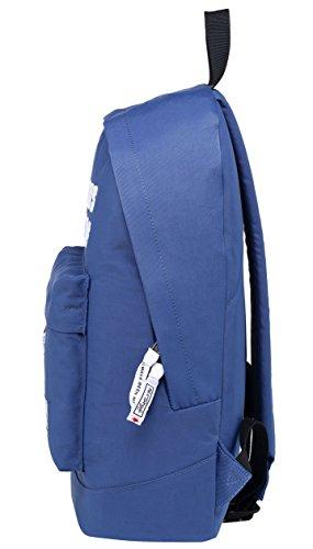 524s Acero ALWAYSBEENME Bordadas D224e Mochila 15 un Cabe Letras DE Pulgadas con 6 Azul Lavanda portátil r1wrU