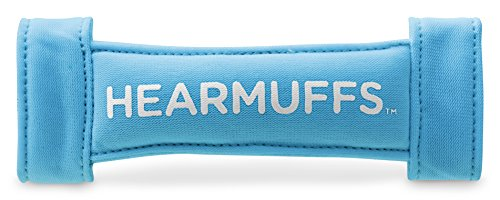 Lucid Audio HearMuffs GrowBand 2 Pack Blue/White (Over-the-ear Sound Protection Ear Muffs Newborn-8 Years)