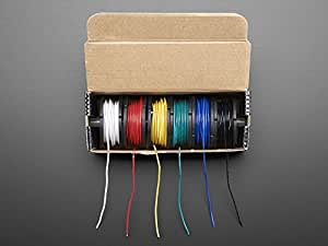Adafruit Accessories Hook-up Wire Spool Set 22AWG [Solid Core]