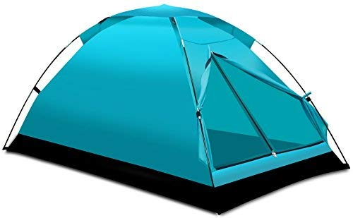(Alvantor Camping Tent Outdoor Travelite Backpacking Light Weight Family Dome Tent Pop Up Instant Portable Compact Shelter Easy Set Up (NOT Waterproof) )
