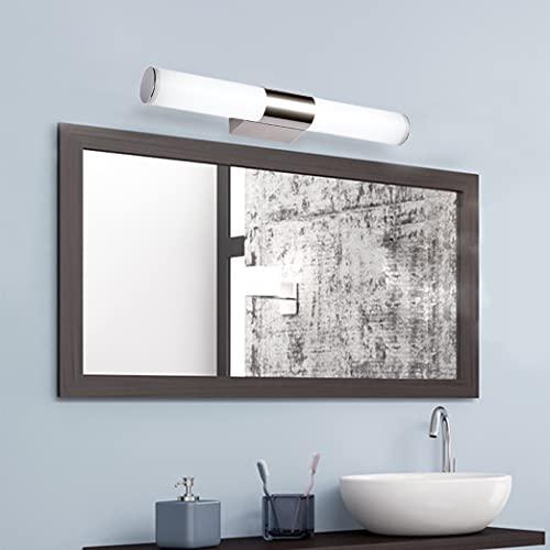 BAGSY LED Spiegel licht 8W 40cm badkamer make-up Voorverlichting Spiegellamp 6000K Koel wit Wandlamp acryl Waterdicht…