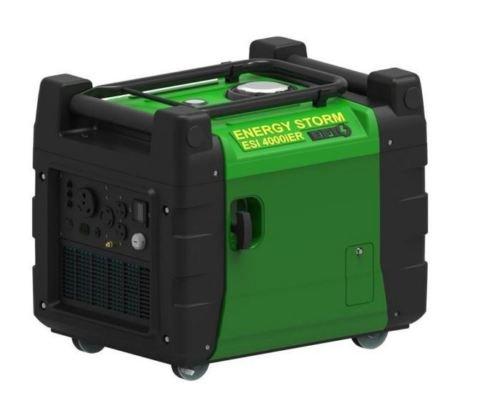 Lifan ESI 4000iER-Efi-CA Energy Storm Digital Inverter Generator, Green