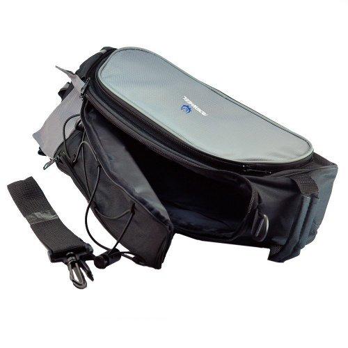 WayGo Multi-function Black Cycling Bicycle Bag Bike Rear Seat Carrier Basket Rack Pannier 13L