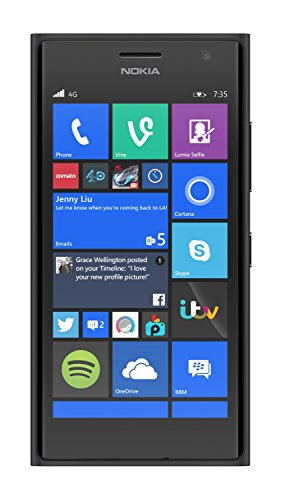 NOKIA LUMIA 735 BLACK/DARK GREY 8GB 4.7