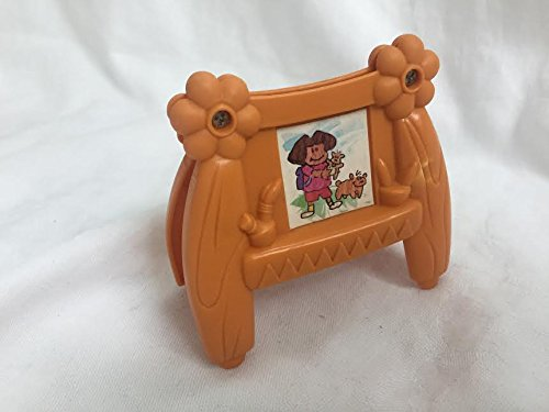 Fisher Price Dora The Explorer Talking Doll House Dollhouse 2004 Nursery Art Easel Replacement Figure Toy -