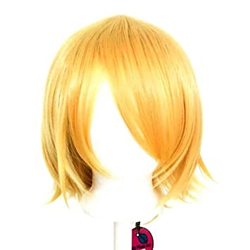 12/'/' Short Flare Hazelnut Brown Cosplay Wig Synthetic NEW