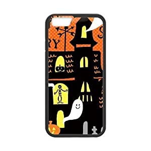 iphone6 4.7 inch Black phone case Haunted House Halloween The best gift DVE3541410