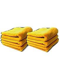"""Chemical Guys MIC_506_12 - Professional Grade Premium Microfiber Towels, Gold 16"""" x 16"""" (Pack of 12)"""