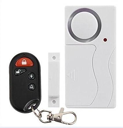 Mengshen® Inicio antirrobo Ventana sistema de alarma antirrobo de seguridad magnética del sensor de movimiento