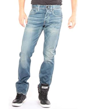Men's Attacc Straight Leg Jean in Blue