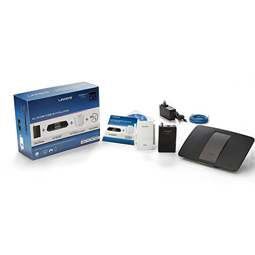 Linksys AC1600 Wi-Fi Wireless Dual-Band + Linksys CM3008 - Wireless Cable Modem Extender