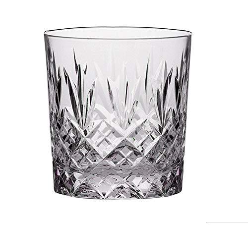 Royal Scot Crystal 11oz Cut Crystal Whisky Tumbler Glass in Edinburgh Design | Scottish Whisky