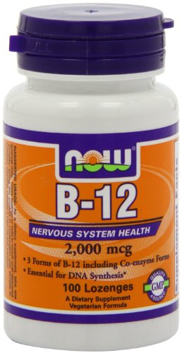 Now Foods B 12 2000mcg, 100 Count