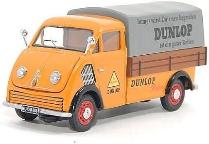 Dkw Schnellaster Pritsche Dunlop Mit Plane Modellauto Fertigmodell Premium Classixxs 1 43 Spielzeug