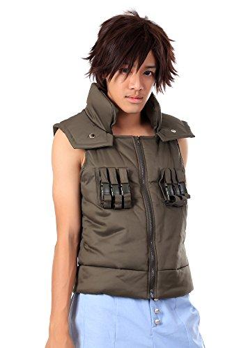SDWKIT Naruto Shippuden Hidden Leaf Shinobi Hatake Kakashi Green Vest XL