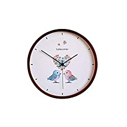 CZYCO New Clock Watch Wall Clocks Silent Wooden Home Decoration Living Room