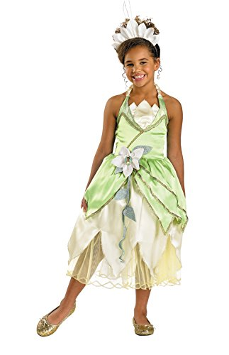 [Deluxe Princess Tiana Costume - Medium] (Tiana Costume For Infant)