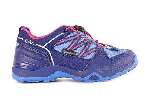 CMP - Zapatillas para deportes de interior de cuero, tela para niña 26,25 EU 26