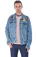 Men's Scotch & Soda Camp Patch Denim Blue Jacket